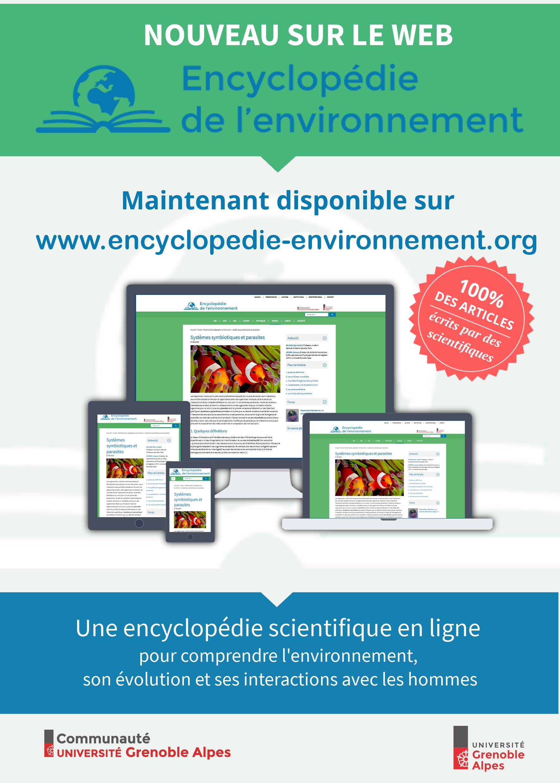 Encyclopédie de l'Environnement flyer