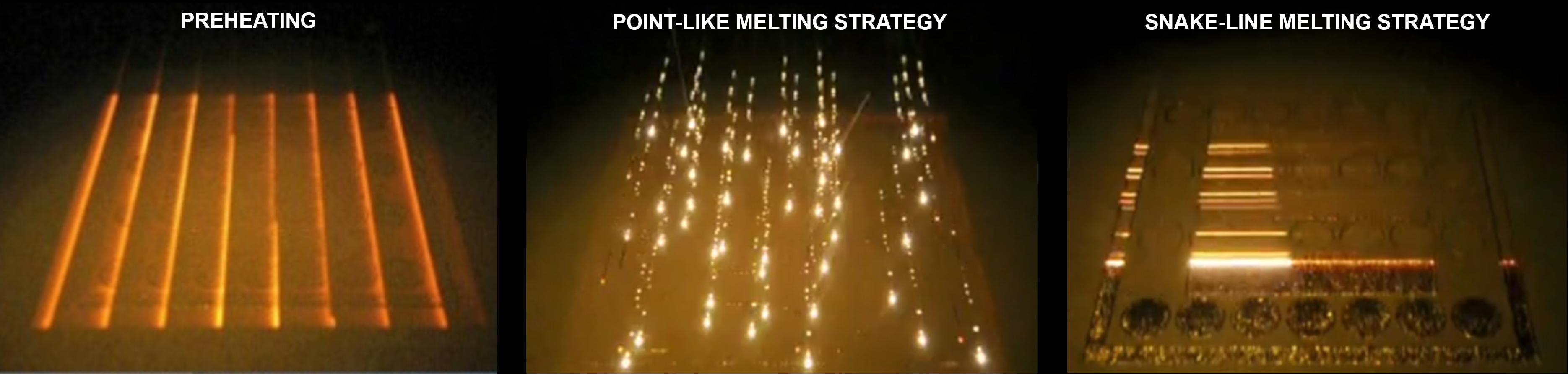Melting strategies
