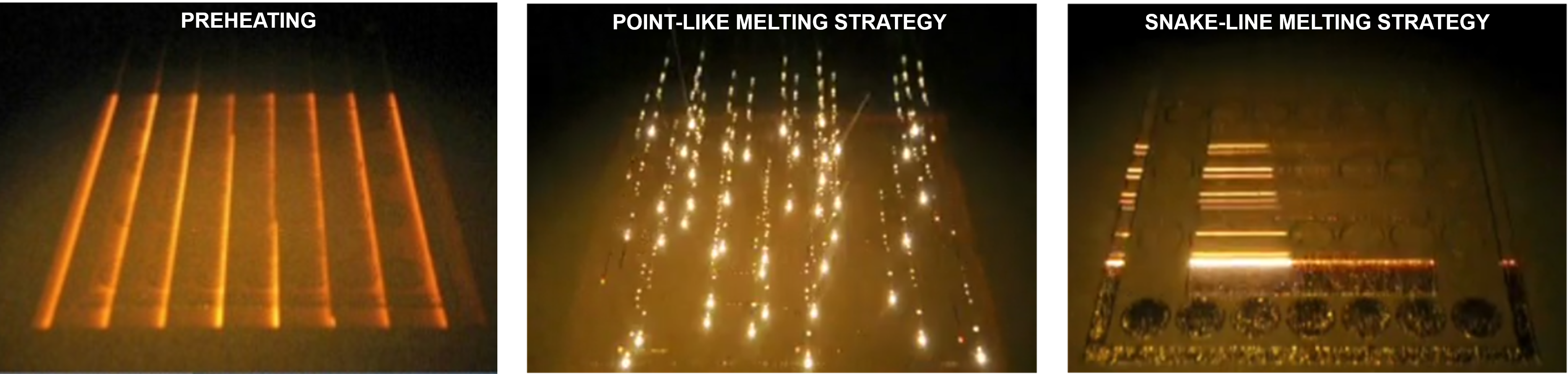 Melting strategies