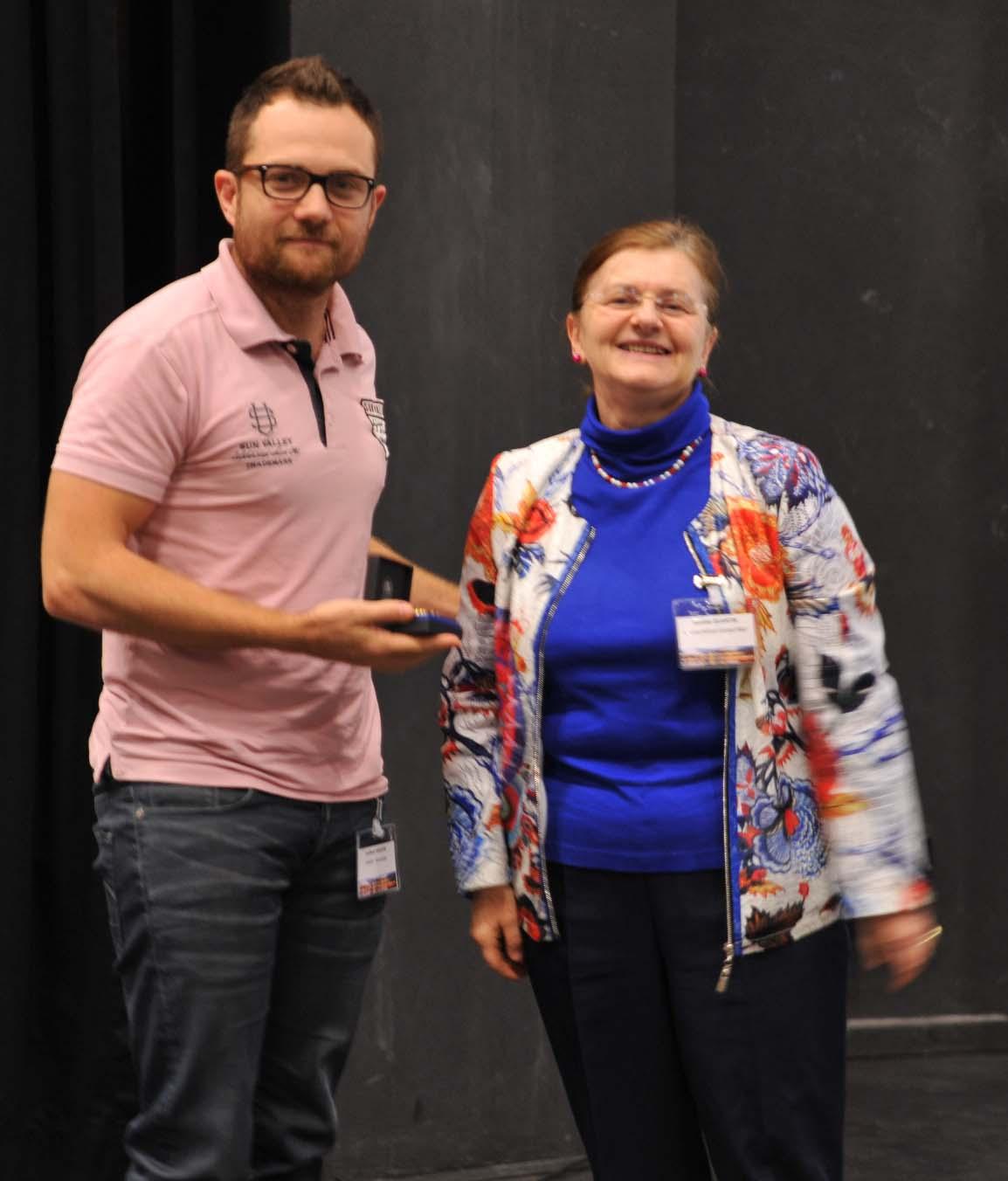 G. Martin (SIMaP) Médaille Jean Rist 2017
