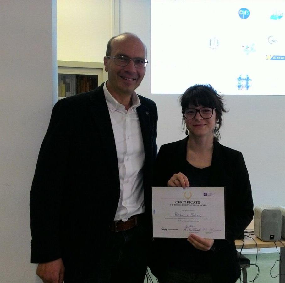 R. Poloni (SIMaP) _ Mid-Term Carrer Investigator Award from Camerino Univ.